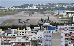Nhật Bản cho tái bố trí căn cứ quân sự Mỹ ở Okinawa
