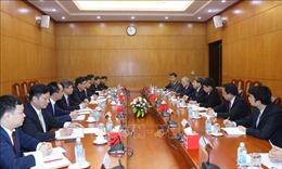Tăng cường quan hệ hữu nghị và hợp tác giữa Việt Nam - Trung Quốc