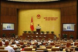 Thông cáo số 14, Kỳ họp thứ 6, Quốc hội khóa XIV