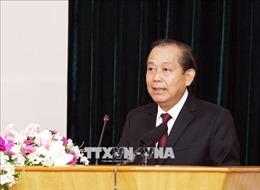 Phó Thủ tướng Trương Hòa Bình tham dự Ngày hội 'Đại đoàn kết toàn dân tộc'