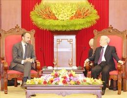 Tổng Bí thư, Chủ tịch nước Nguyễn Phú Trọng tiếp Thủ tướng Pháp Édouard Philippe