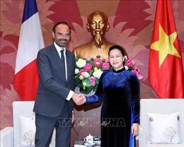 Chủ tịch Quốc hội Nguyễn Thị Kim Ngân tiếp Thủ tướng Cộng hòa Pháp Édouard Philippe