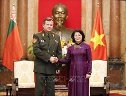 Quốc phòng là điểm sáng trong quan hệ hợp tác Việt Nam - Belarus