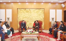 Đoàn đại biểu Đảng Nur Otan, Cộng hòa Kazakhstan thăm Việt Nam
