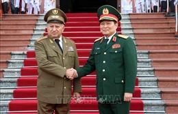 Bộ trưởng Bộ các Lực lượng vũ trang cách mạng Cuba thăm và làm việc tại Việt Nam