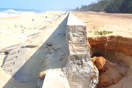 Công bố nguyên nhân sập kè bờ biển Tam Quan vừa được đầu tư gần 80 tỷ đồng
