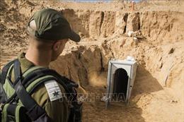 Israel phát hiện các đường hầm xâm nhập lãnh thổ từ Liban