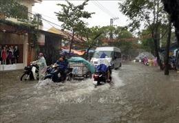 Cảnh báo lũ quét, sạt lở đất và ngập úng cục bộ từ Đà Nẵng đến Bình Định