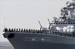 Tàu chiến Nga tuần tra khu vực châu Á - Thái Bình Dương