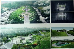 Lấy ý kiến về phương án thiết kế đền thờ anh hùng liệt sỹ Điện Biên Phủ