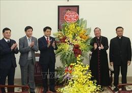Lãnh đạo Hà Nội tiếp tân Tổng Giám mục Tổng Giáo phận Hà Nội
