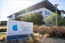 Giá cổ phiếu của Tập đoàn Apple giảm 8,8%