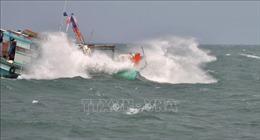 Sóng lớn, thuyền viên 51 tuổi rơi xuống biển lúc rạng sáng
