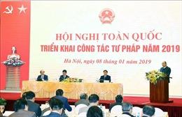 Thủ tướng: Bộ Tư pháp phải là 'người gác gôn' của Chính phủ trong các vấn đề pháp lý quốc tế
