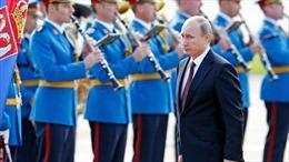 Tổng thống Nga thăm chính thức Serbia