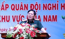 Đại tướng Ngô Xuân Lịch thăm các đồng chí nguyên lãnh đạo Bộ Quốc phòng