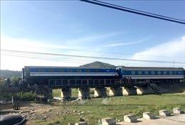 Đã thông tàu tuyến Bắc - Nam sau sự cố trật bánh tại Bình Thuận
