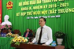 Ông Dương Tấn Hiển được bầu giữ chức Phó Chủ tịch UBND thành phố Cần Thơ