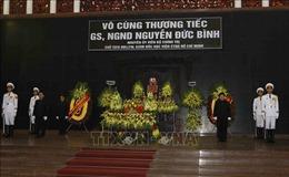 Lời cảm ơn của Ban Lễ tang Nhà nước và gia đình đồng chí Nguyễn Đức Bình