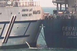 Tàu Malaysia va chạm với tàu hàng Hy Lạp ở vùng biển tranh chấp