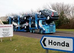 Honda khẳng định việc đóng của nhà máy tại Anh không liên quan đến Brexit