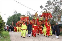 Lễ rước nước tại Lễ hội Thái Miếu nhà Trần