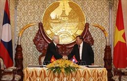 Tạo động lực thúc đẩy toàn diện quan hệ Việt Nam - Lào, Việt Nam - Campuchia