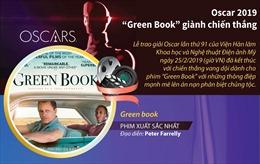 'Green Book' chiến thắng vang dội tại Oscar 2019