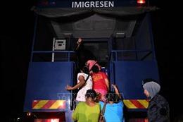 Malaysia bắt giữ 1.500 người nhập cư bất hợp pháp