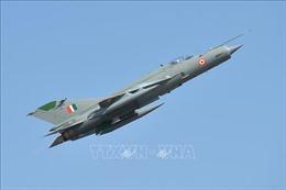 Ấn Độ: Máy bay chiến đấu rơi gần biên giới Pakistan do va phải chim