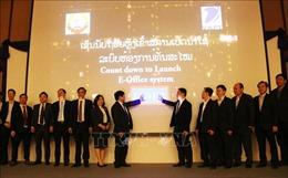 Việt Nam giúp Lào xây dựng hệ thống quản lý nhà nước bằng điện tử