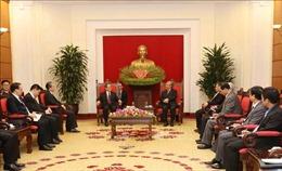 Thường trực Ban Bí thư tiếp Bí thư Đảng ủy Khu tự trị dân tộc Choang Quảng Tây, Trung Quốc