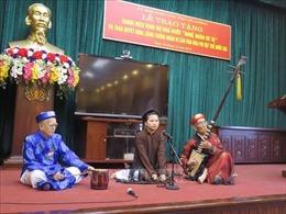 'Đệ nhất danh cầm'  - 'Báu vật' sống của làng ca trù Nguyễn Phú Đẹ đã đi xa