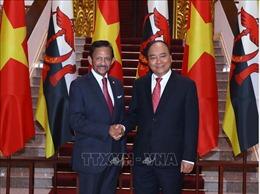 Thủ tướng Nguyễn Xuân Phúc hội kiến Quốc vương Brunei