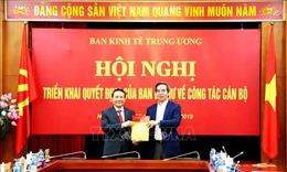 Ông Nguyễn Hồng Sơn giữ chức vụ Phó Trưởng ban Kinh tế Trung ương