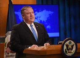 Ngoại trưởng Mỹ: Trừng phạt kinh tế sẽ không được dỡ bỏ cho đến khi Triều Tiên từ bỏ vũ khí hạt nhân