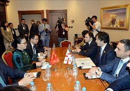 Chủ tịch Quốc hội Nguyễn Thị Kim Ngân hội kiến Chủ tịch Quốc hội Gruzia