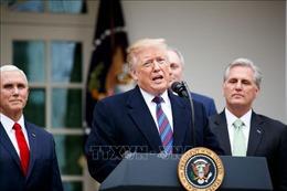 Tổng thống Trump: Mỹ chuẩn bị triển khai hành động quân sự để ngăn chặn Iran