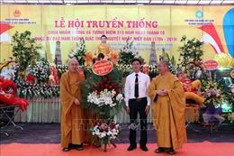 Khai hội truyền thống chùa Nhẫm Dương, Hải Dương