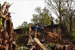 Khẩn trương khắc phục hậu quả mưa dông, gió lốc tại Hà Giang