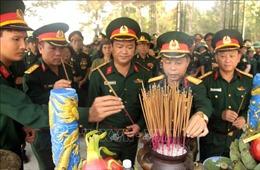 Tổ chức Lễ viếng đặc biệt Trung tướng Đồng Sỹ Nguyên ngay tại Nghĩa trang Trường Sơn