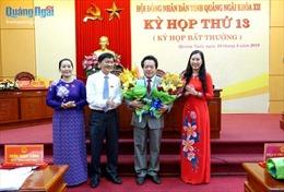 Ông Võ Phiên được bầu giữ chức Phó Chủ tịch UBND tỉnh Quảng Ngãi