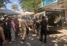 Khắc phục hậu quả vụ tai nạn giao thông đặc biệt nghiêm trọng tại Bình Định