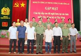 Bộ Công an gặp mặt thân mật các cán bộ cấp cao nghỉ hưu tại các tỉnh, thành Tây Nam Bộ 