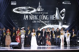 Giải thưởng Âm nhạc Cống hiến lần thứ 14: Chuyển động tích cực của thị trường âm nhạc