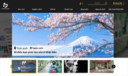 Trang thông tin du lịch tsunagujapan.com của Nhật Bản có phiên bản tiếng Việt