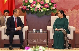 Phó Chủ tịch Quốc hội tiếp Giám đốc WHO khu vực Tây Thái Bình Dương