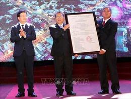 Chủ tịch Quốc hội dự Lễ công bố quyết định TP Bến Tre là đô thị loại II