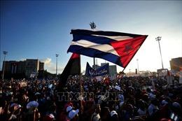 Khoảng 6 triệu người dân Cuba tuần hành kỷ niệm ngày Quốc tế lao động 1/5