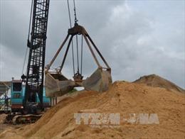 Giá cát xây dựng tại Hà Tĩnh tăng cao đột biến